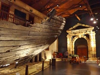 Hull of the Batavia.