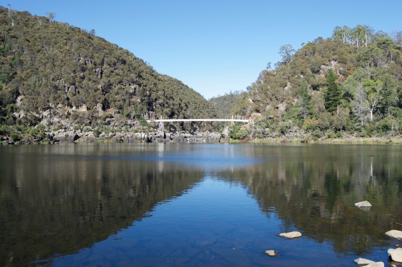 Cataract Gorge.