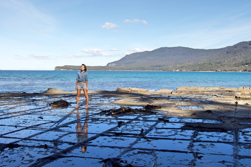 The Tessellated Pavement.