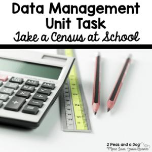 Data Management Lesson – Census At School