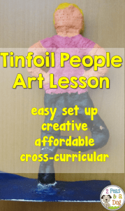 Tinfoil Sculpture Art Lesson