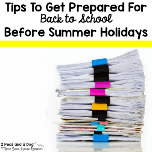 Tips to Get Prepared for Back to School Before Summer Holidays