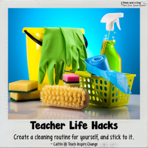 Teacher Life Hack Cleaning Routines