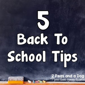 5 Back to School Tips For Teachers