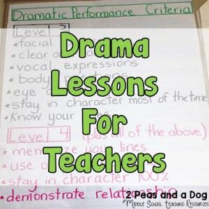 Ideas For Teaching Drama