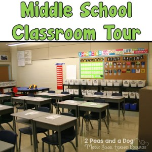 Middle School Classroom Set Up Ideas