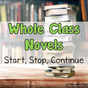 Teaching Whole Class Novels