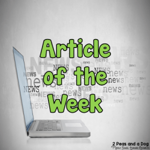 Article of the Week Lesson Ideas for Middle and High School Students