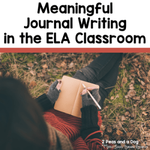 7 Tips For Implementing Journal Writing In Your English Language Arts Classroom