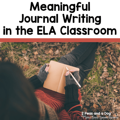 Help your students ignite their passion for writing through journaling in your classroom. Journaling can be an important tool for student self expression. Read 7 tips on how to implement an effective journal writing component into your English Language Arts program from the 2 Peas and a Dog blog.