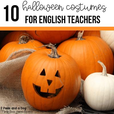 10 Halloween Costume Ideas For English Teachers
