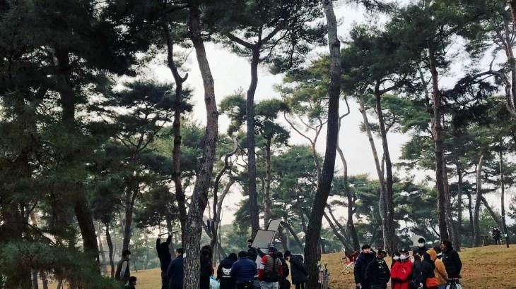 [PICS] 190114 ジュノ 기방도령 撮影中