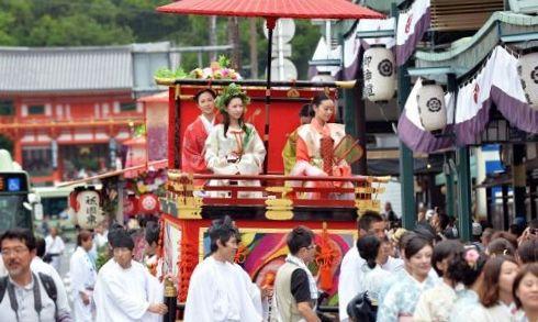 hanagasa parade
