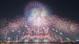 Naniwa Yodogawa Fireworks Festival/ Osaka @ Yodogawa River   Osaka   Osaka Prefecture   Japan