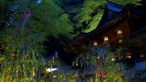 Tanabata illumination at Kibune Shrine/ Kyoto @ Kibune Shrine | Kyōto-shi | Kyōto-fu | Japan
