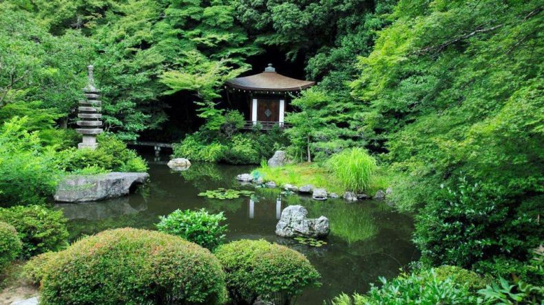 bishamon-do garden