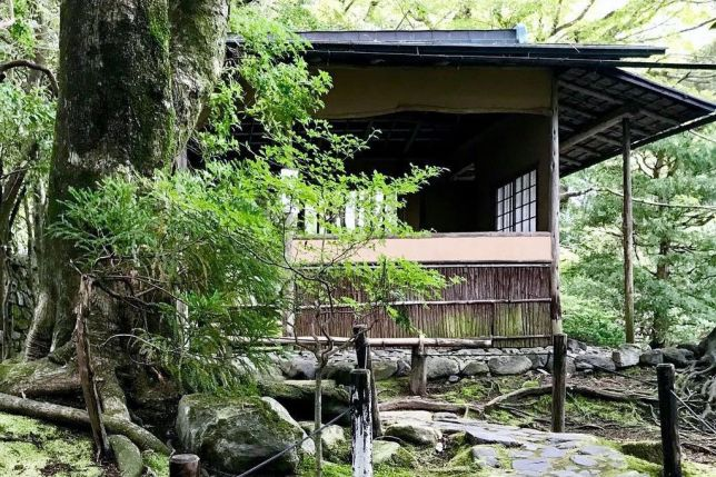 chikurin-in teahouse