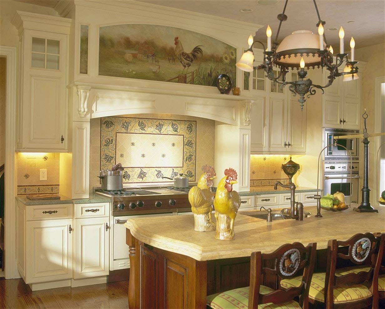 Stucco Per Piano Cottura da parigi alla provenza: segreti di design per la cucina di