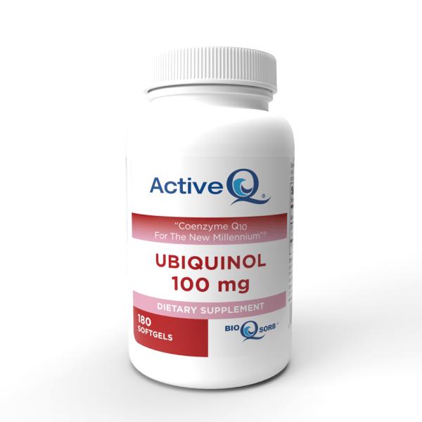 ActiveQ® Ubiquinol 100mg softgels Kaneka Ubiquinol 180 count
