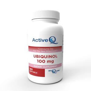 ActiveQ® Ubiquinol 100mg softgels Kaneka Ubiquinol 180 count