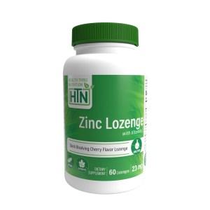 Zinc Lozenge with Vitamin C 23mg 60 Lozenges
