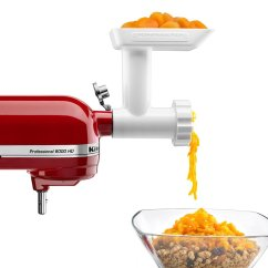 Kitchen Aid Pasta Attachment Mobile Home Sink 9 Must Have Stand Mixer Attachments Compactappliance Com Kitchenaid Food Grinder
