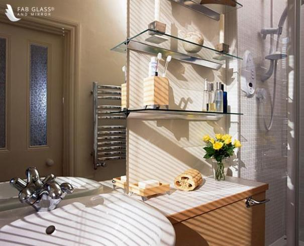 Looking To Renovate Your Bathroom Glass Shelves Is The Way To Go Did You Know Homes