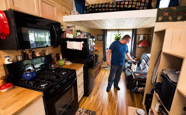 Tiny Homes Owning Houses The Size Of Your Average Living