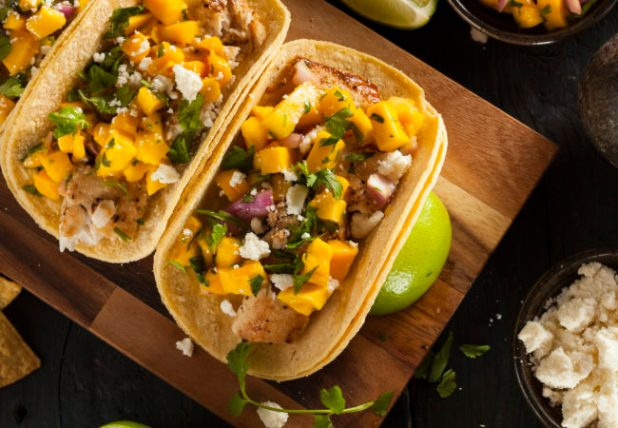 Recipe: Red Snapper Taco with Mango Salsa