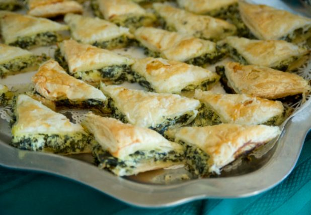 Recipe: Spinach-Filled Spanakopitas