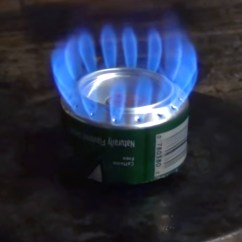 Trash Cans For Kitchen Table Ultralight And Efficient Penny Stove   Recoil Offgrid