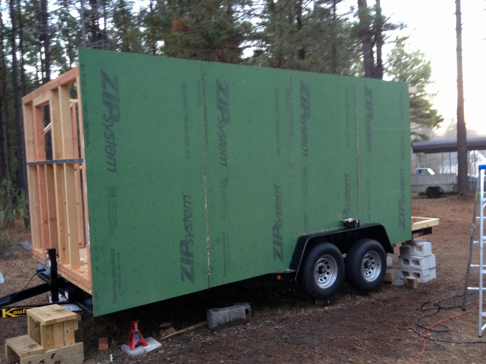 hight resolution of sheathing your tiny home