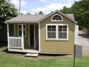 Living in a Shed?  The Tiny Life