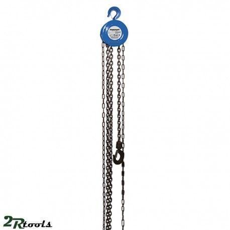 polipasto manual de cadena 1 TM para suspensión de objetos