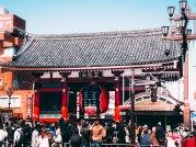 Gate of Sensoji Temple, Asakusa