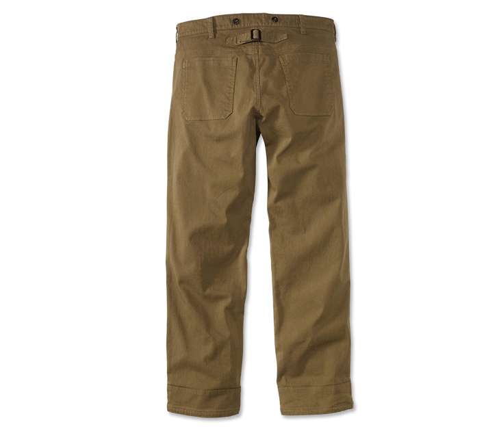 Cinch-Back Field Pants