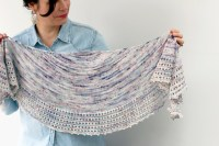 Easy knitted shawl patterns - your top picks - Crafternoon ...