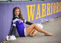 Girl Senior Portrait Cheerleader