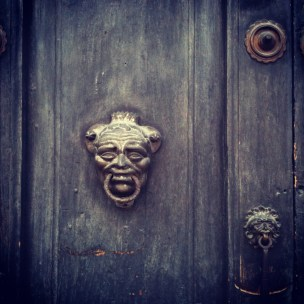 Antigua Door knocker