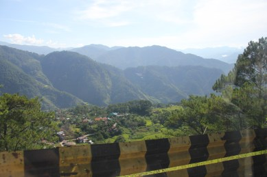 View along Halsema Highway