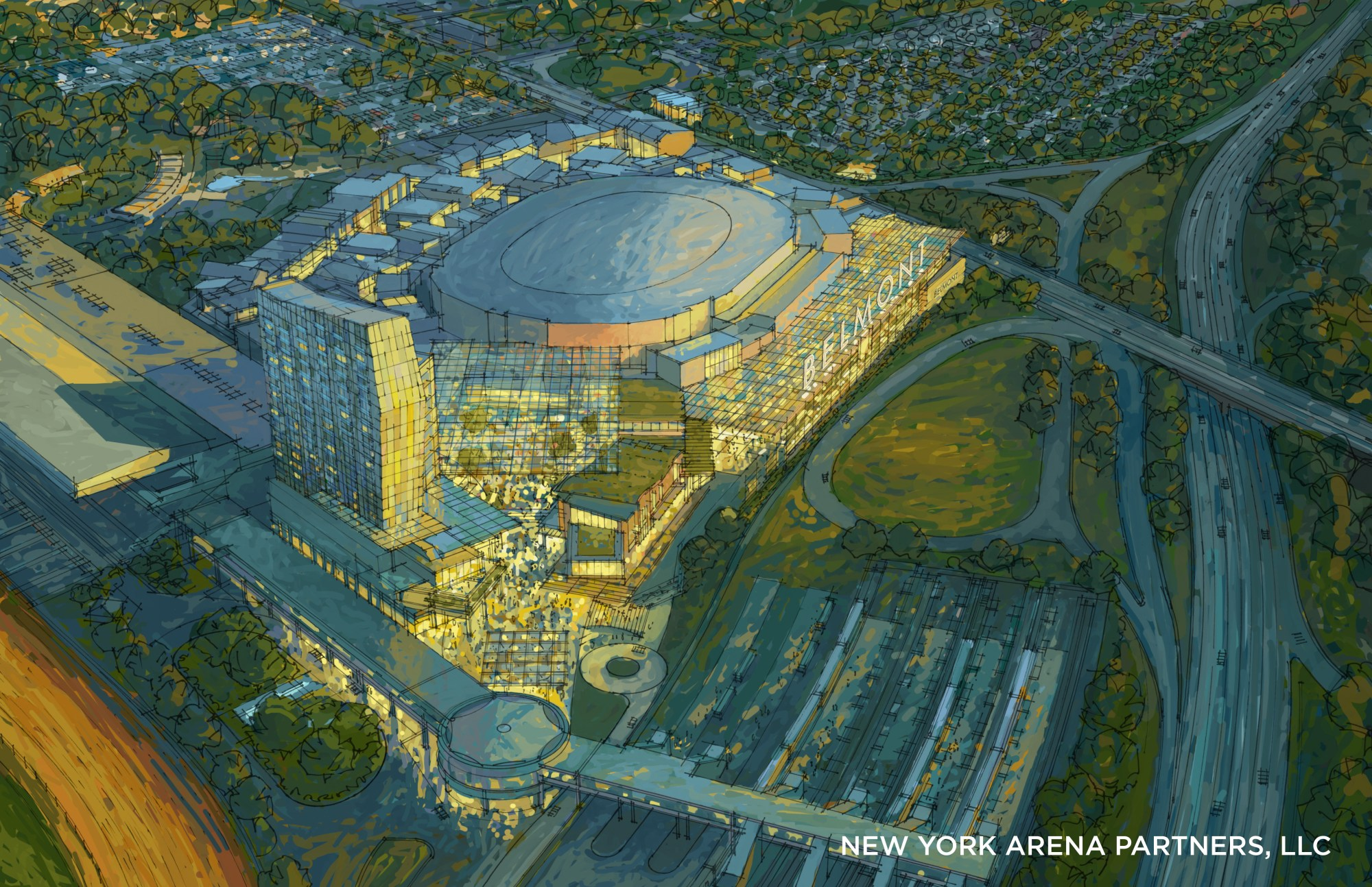 hight resolution of it s official new york islanders win bid to build a new home near belmont park