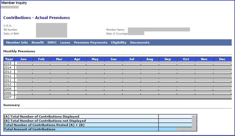 Check-SSS-Contributions-Online-Actual-Premiums