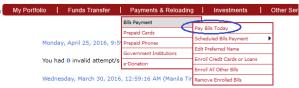 How to Pay Sun Postpaid Plan thru BPI Express Online