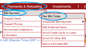 How to Pay HSBC Credit Card through BPI Express Online