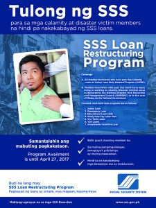 SSS Loan Restructuring Program / SSS Condonation is Now Available!