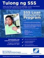 SSS-Loan-Restructuring-Program-2016-2017 poster