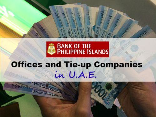 Where to Find BPI Offices and BPI Tie-up Companies in UAE - Send