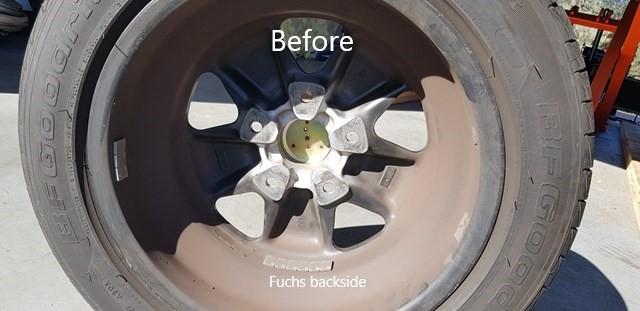 Porsche Fuchs wheel