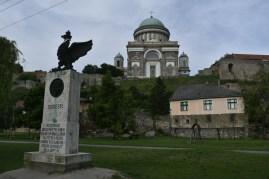 Esztergom view of castle