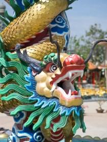Chinese Temple, Kanchanaburi